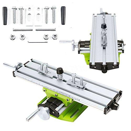KingSaid Kreuztisch Koordinatentisch Kreuzsupport XY-Tisch für Säulenbohrmaschinen Fräsmaschinen Graviermaschine CNC...