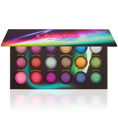 Aurora Lights - 18 Farben Baked Lidschatten Palette