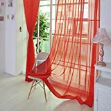 B : Mumustar 1 Piece 2x1m Semi Transparent Silky Mesh Net Curtains Translucent Sheer Blackout Drape Anti Mosquito Bug Insect For Bedroom Living Room Balcony Porch Shading (B)
