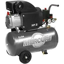Mercure 425063 - Compresor de aire (1500 vatios) color Gris