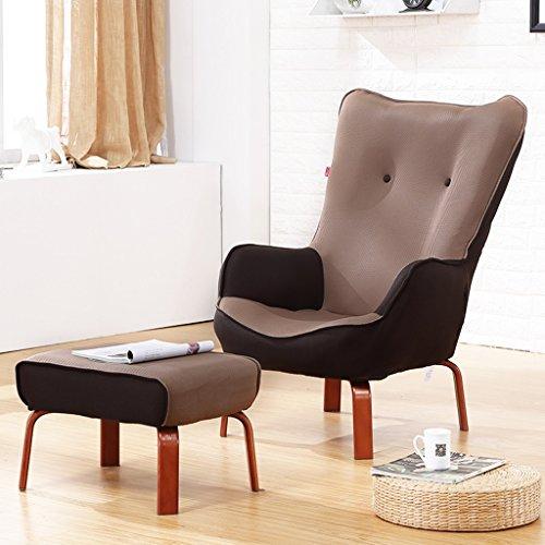 JH Tatami kleines Sofa einzelner Balkonstuhl Faltbarer Krankenpflegestuhl Lesestuhl Faule Couch,...