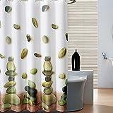 GLJY Steinmuster Polyester Duschvorhang verdicken wasserdichte Mehltau warm halten Schattierung undurchlässige Kordgewebe Badezimmer Partition Vorhang hängenden Vorhang,A_200*300cm