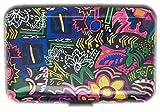 Kreditkartenetui Visitenkarten Wallet Alu Geld Geldbörse Kartenetui Aufbewahrung von Boolavard ® TM (Graffiti)