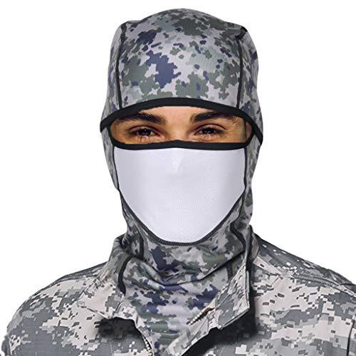 Sturmhaube Winddichte Skimaske Gesichtshaube - Männer Frauen Gesichtsmaske Vlies Warm Kopfbedeckung Kopfhaube Atmungsaktiv Helm für Skifahren Motorradfahren Wandern