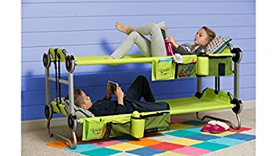 Kid-O-Bunk Green by Disc-O-Bed 30005BO - inexpensive UK Bunkbed store.