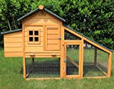 Pets Imperial® Warwick Chicken Coop Suitable for up 3/4 Birds Depending On Size