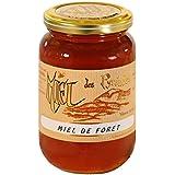 Le Rucher de l'Ours - Miel de Forêt - Pot de 500g, Liquide