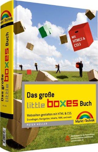 Das große Little Boxes-Buch - Webseiten gestalten mit HTML & CSS. Grundlagen, Navigation, Inhalte, YAML und mehr. Buch-Cover