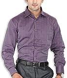 SPEAK Mens Purple Stripes Premium Cotton...