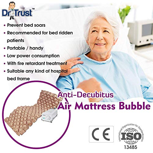 Dr Trust Air Mattress Anti Decubitus Air Pump and Bubble Mattress (Brown) Image 5