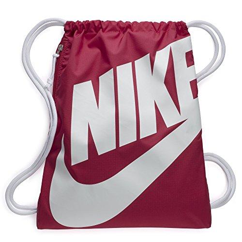 Nike Heritage Turnbeutel, Rush Pink/Weiß