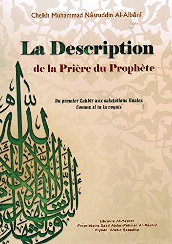 La description de la priere du prophete