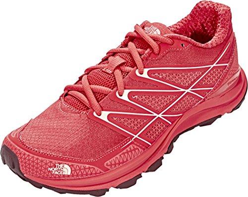 THE NORTH FACE Litewave Endurance Running Trail Shoes Damen Cayenne red/Tropical Peach Schuhgröße 11 | EU 42 2017 Laufsport Schuhe -