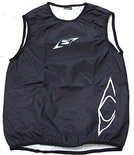 Sandiline Paddelweste Gilet Sprint Arme Kanu Kajak SUP Training Touren, Farbe:schwarz, Größe:M