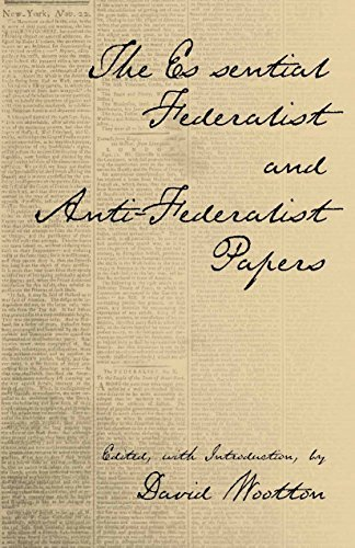The Essential Federalist and Anti-Federalist Papers (Hackett Classics) by Alexander Hamilton (2003-09-15)