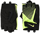 Nike Herren Men's Core Lock Training Gloves 2.0-Power Handschuhe, Black/Volt, XL
