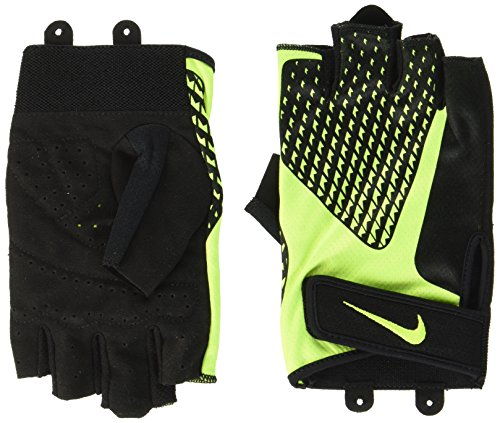 Black Cross-training Handschuh (Nike Herren Men's Core Lock Training Gloves 2.0 - Power Handschuhe Black/Volt XL)