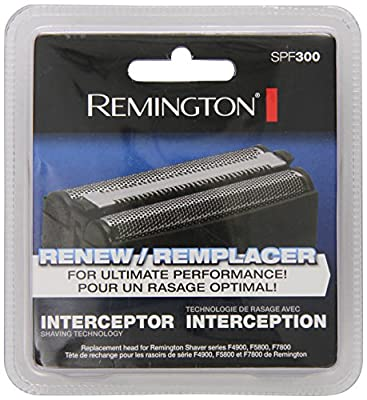 Remington SPF-300: Screens and Cutters for Shavers F4900, F5800 and F7800, Silver