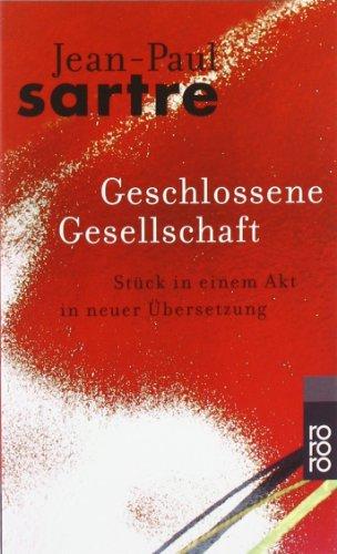 Buchseite und Rezensionen zu 'Geschlossene Gesellschaft. Stück in einem Akt' von Jean-Paul Sartre
