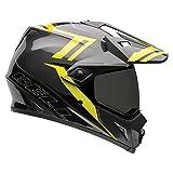 Bell Powersports MX-9 Adventure Motorradhelm, Mehrfarbig (Matte Barricade Hi-Vis), L