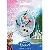 Wrights-Disney Frozen Iron On Appliques: Olaf. A fun addition to any outfit, pillow and more! This 5-1/2x4 inch package contains one iron-on applique. Imported.