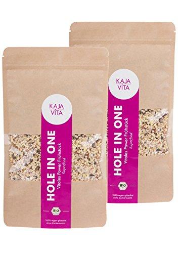 ies Superfood Porridge / Müsli, HOLE IN ONE mit Goji Beeren, Chia Samen und vielem mehr, 2 x 325g 100% Bio. ()