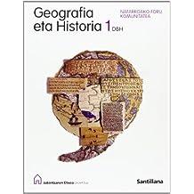 Geografía Eta Historia 1 Dbh Nafarroako Foru Komunitatea Kaintzaren Etxea Santillana