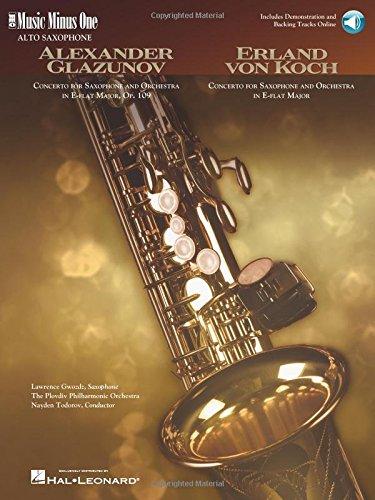 Glazunov Concerto in E-Flat, Op.109; Von Koch Concerto