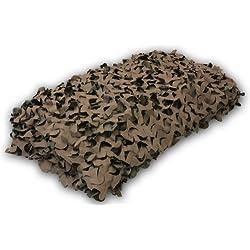 Nitehawk Filet de camouflage Vert/marron 1/2/3/4/5/7/10m 5m x 2.5m