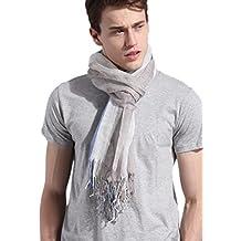 pensieri su stile squisito vendite all'ingrosso Amazon.it: sciarpa uomo estiva