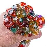 MINI CUTE Stress Squeeze Squishy Ball & Pull & Stretch Bounce Ball für Stress- und Angstentlastung, ADHD, Autismus, EDC Toys für Kinder & Erwachsene