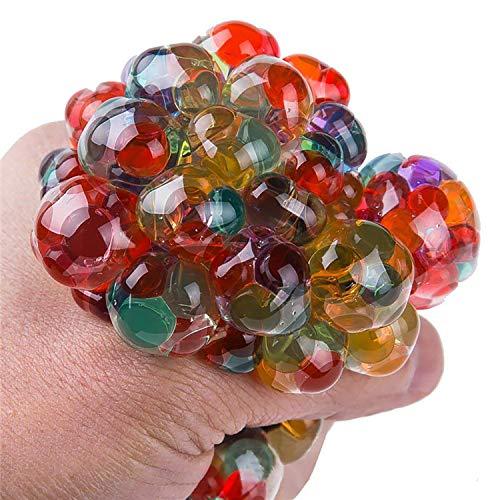 Stress Squeeze Squishy Ball & Pull & Stretch Bounce Ball für Stress- und Angstentlastung, Adhd, Autismus, Edc Toys für Kinder & Erwachsene