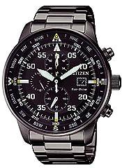 Idea Regalo - Citizen Orologio Cronografo Quarzo Uomo con Cinturino in Acciaio Inox CA0695-84E