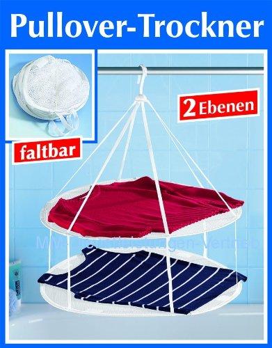 Preisvergleich Produktbild Pullovertrockner Wäschetrockner Feinwäschetrockner 2 Etagen faltbar