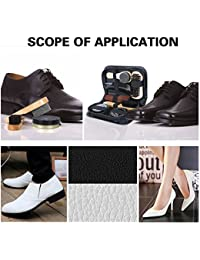 CONNECTWIDE® Premium Men Shoes Cleaning Kit With Box Wooden Handle Brushes Shoe Shine Polish Portable Travel Leather Care Smooth Tool (8 pcs Kit) Perfect & Best Gift For Father, Friend, Boys, Men, Boyfriend, Husband, Colour may slightly vary- Ready to use kit- Compact & Versatile Perfect for travel (1 Set)