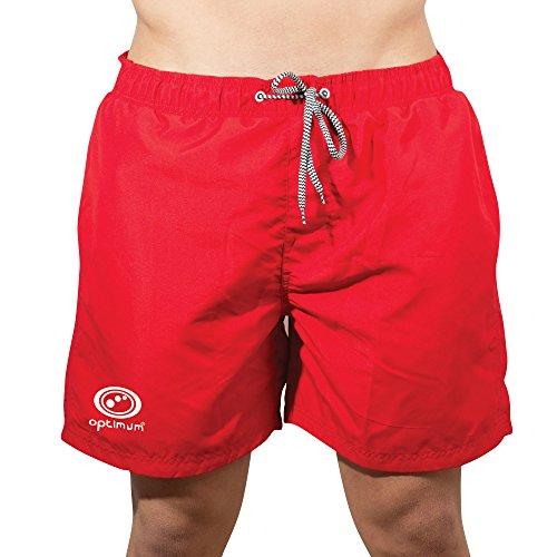 Optimum Herren beachbums Swim Shorts Rot