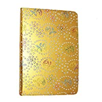 Kamal Star KINDLE FIRE HD 10 2015 Case, Leather Wallet flip cover,back stand cover, Full Body protection tablet cover by (Rose Gold Diamond)