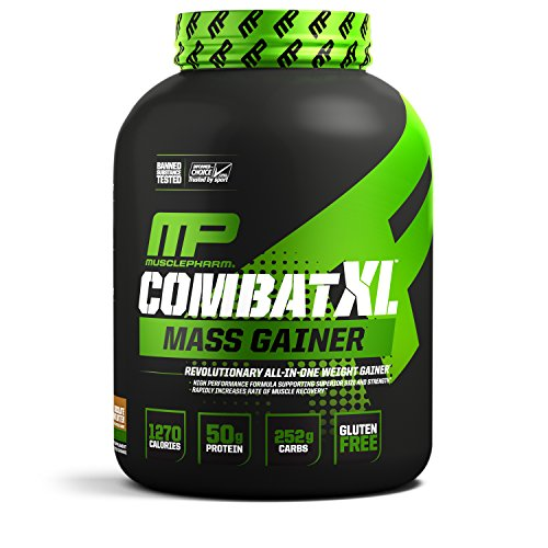 MusclePharm Combat XL Mass Gainer Sport Series (6lbs) Chocolate Peanut Butter