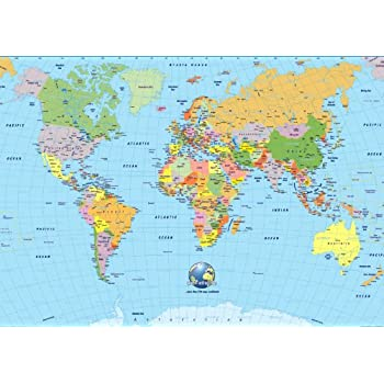 A4 icing sheet cake toppers handbag world map globe earth amazon a4 icing sheet cake toppers handbag world map globe earth gumiabroncs Gallery