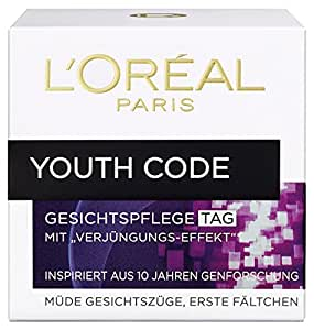 L'Oréal Paris Youth Code Pflege, 1er Pack (1 x 50 ml)