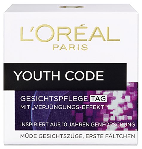 L'Oreal Paris Gesichtscreme Youth Code Tagespflege 50ml (Loreal Youth Code)