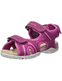 Geox Roxanne A, Sandales Bout Ouvert Fille