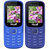 Hicell C9Metro Basic Feature Mobile Phone With Dual Sim, 1.8 Inch Display, 1050 Mah Battery (Dark And Navy Blue) - Combo Of 2