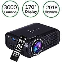 Amazon.es: led projector 1080p: Oficina y papelería