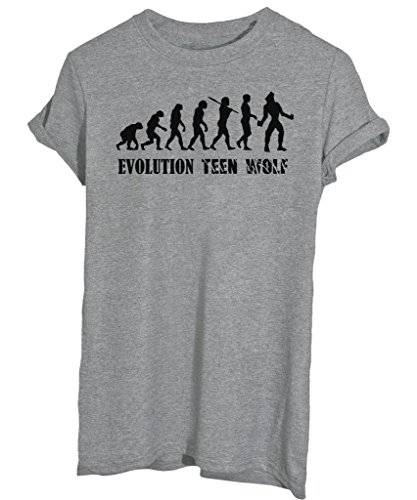 T-Shirt EVOLUTION TEEN WOLF - by iMage - Donna-M-Grigia