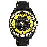 Scuderia Ferrari Chronograph Yellow Dial Men's Watch - 0830291