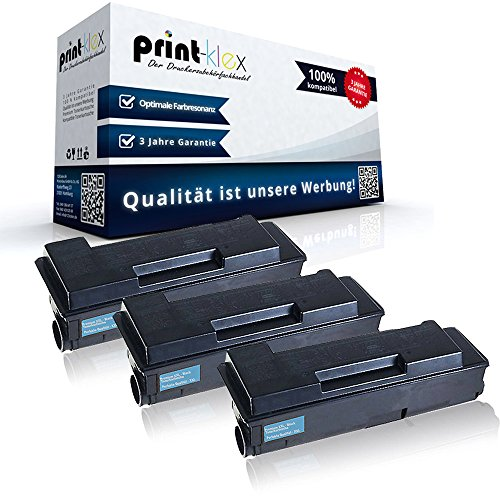 3x Kompatible Tonerkartuschen für Unisys ED 3200 3300 1T02F80EU0 TK 310 TK-310 TK310 Schwarz Black - Office Light Serie (Ed-drucker)