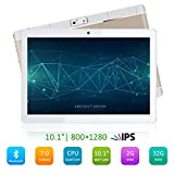 PADGENE Tablette Tactile 10,1' Android 6.0, Quad Core, 2Go RAM + 32 Go ROM, WiFi