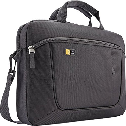 Case Logic AUA314 Notebook & Tablet Attaché 35,8 cm (14,1 Zoll) Notebooktasche Schwarz (Deluxe Laptop Case)