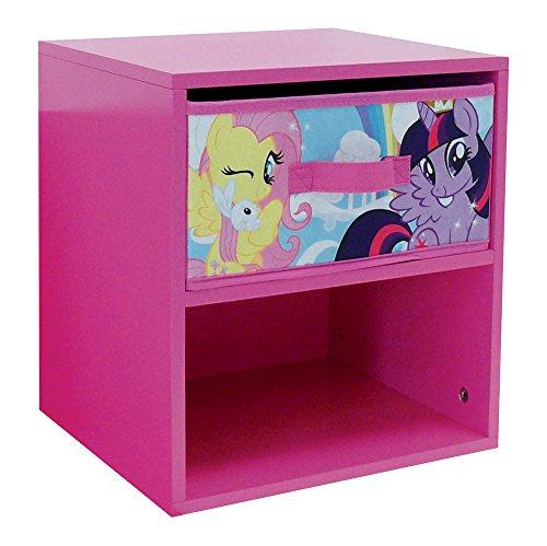Fun House 712522My Little Pony Nachttisch mit Schublade für Kinder MDF 33x 30x 36cm
